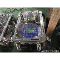 Quality Metal Frames With Clamps For Aluminum Rotomolding Block Making Cooler Molds wholesale