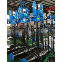 Cheap API 6D Fully Welded Ball Valve Cylinder Type With Emergency Injection Design for sale