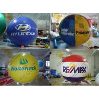 Quality 2.5m Thickness PVC Large Inflatable Balloons Fire Resistance For Outdoor Decorations wholesale