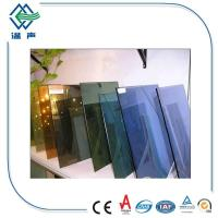 Quality Customized large Reflective Glass Sheet for shop display windows , Interior glass screens wholesale