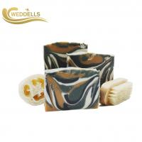 Quality Small Pure Natural Soap Bars With Goat Milk Custom Fruit Fragarance MSDS wholesale