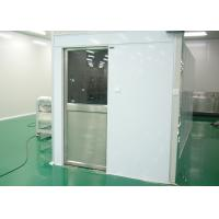 Quality Tunnel Type Air Shower Cleanroom Electric Interlocked For Semiconductor Industry wholesale
