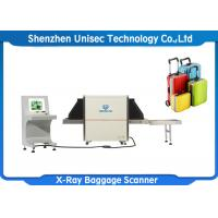 Quality White Color Security Baggage Scanner / Luggage X Ray Machine High Wire Resolution wholesale