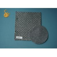Quality Needle Punched Grey Felt Fabric Exhibition Carpet in stock 4 Metres width wholesale