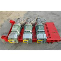 Quality CE Approved 1 Ton Red Rack And Pinion Hoists with Mast Hot-dip Galvanized wholesale