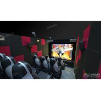 China Mini Mobile 5D Cinema Theater For Science / Amusement Novel And Unique Experience on sale