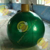Quality Christmas Decoration Custom Shaped Balloons Eye - Catching Mirror 0.25mm Pearl Color wholesale