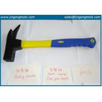 Quality roofing hammers, fiber glass handles, blue yellow fiber handle wholesale