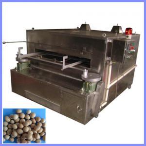 China flour coated peanut roaster, wasabi covered peanut oven on sale