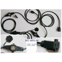 Quality Black Color Surge Protected 4 Outlet Heavy Duty Power Strip With Extension Cord wholesale