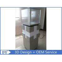 Quality Manufacturer supplier modern simple style glass display cabinets with custom size wholesale
