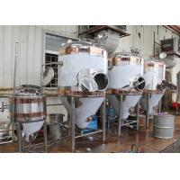 Quality 1500L Conical Beer Fermenter , Stainless Steel Fermentation Tanks wholesale