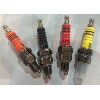 Quality CD70  motorcyle spark plugs with different colors C7HSA wholesale