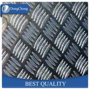 Quality 2mm Anti Skid Aluminium Checker Plate , 3 Bar Alloy Chequer Plate 1050 wholesale