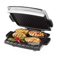 China Glass grill of less oil to indoor electric bbq grill for keeping healthy on sale