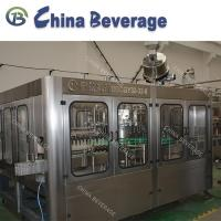 China Glass Bottle Carbonated Soft Drink Filling Machine , Full Automatic Water Bottling Machine on sale