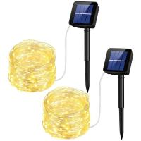 Quality 10M Solar Led String Lights Solar Powered Rope Lights 1 Year Warranty wholesale