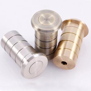 China Flush bolt dust excluding sprung socket brass door hardware floor socket on sale