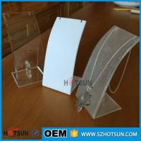 Cheap Custom clear countertop ring display/ring rack /acrylic jewelry display stand for sale