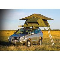Quality Customized Pop Up Roof Top Tent , Aluminum Pole Roof Rack Mounted Tent wholesale