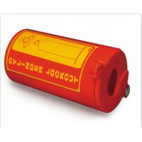 Cheap ZC-PM31 Polystyrene Plastic Gas Cylinder Lockout, One Padlock Can Be Applied for sale