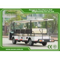 China 14 Person Electric Sightseeing Car 48V Trojan Battery Electric Shuttle Car on sale