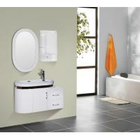 Quality Round type 15mm PVC Material ceramic vanity top with integrated sink 90 X 45 / cm wholesale