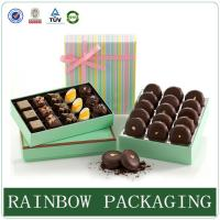 Quality Chocolate Paper Box Packaging , Product Packaging Box for Gift Wrapping wholesale