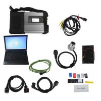 Quality V2017.07 MB SD Connect C5/ C4 Star Diagnosis Plus Lenovo T410 Laptop With DTS and Vediamo Engineering Software benz star wholesale