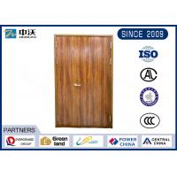 Quality Home 90 Minute Fire Rated Wood Doors / Fire Rating 1.5 Hour Fire Rated Metal Doors wholesale