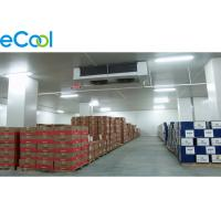 China Insulated Panel  Assembling Refrigerated Warehouse / Air Cooled Cold Room Storage on sale