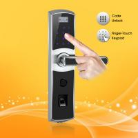Quality Electric Intelligent Password and Biometric Fingerprint Door Lock with Remote Control Function wholesale