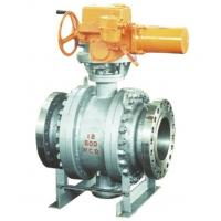 Quality 3PC Trunnion Mounted Ball Valve , API 6D 150LB Rf Ball Valve Gear Operate wholesale