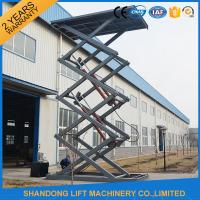 Buy cheap Fixed Electric Hydraulic Automotive Scissor Lift Car Parking Equipment with CE from wholesalers