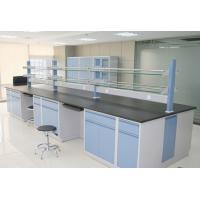 China C/H Frame Steel And Wood Lab Tables Work Benches For Modular Science Physical Laboratory Furniture on sale