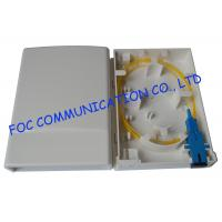 Quality 2 Port wall mount patch panelFiber Optic Socket Small Multi - Function wholesale