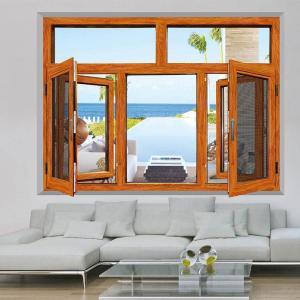 Quality Residential Aluminum Tilt And Turn Windows Powder Coating Elegant Functional wholesale