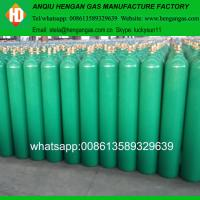 China Low Price Argon Gas Filling 40L Argon Gas Cylinder With Valve in Bulgaria on sale