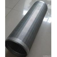 Quality 316L Wedge Wire Screen Basket Liquid Filter For Pressure Screen In The Pulping Line wholesale