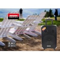 Outdoor Wireless Portable Microphone Speaker With Trolley And Wheels