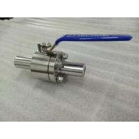 China Economical Floating Ball Valve SW / NPT Ball Valve Small Diameter Pipeline on sale