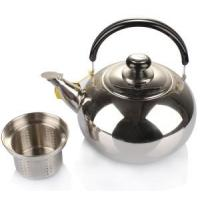 Quality Spherical Whistling water kettle with strainer wholesale