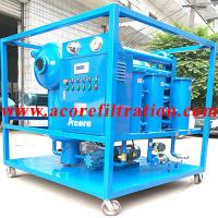 China High Vacuum Transformer Oil Filter Machine Price,Oil Filtering Equipment Factory on sale