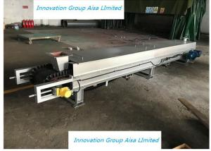 Quality 500mm Screw Conveyor With Hopper Feeder System For Iron Powder wholesale