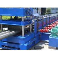 Quality 3 Waves Highway Profile Steel Roll Forming Machine For Expressway Guard Bars Use 45Kw Motor and Hydraulic Cutting wholesale