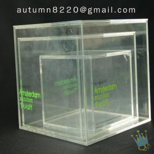 Quality BO (51) acrylic ballot case wholesale