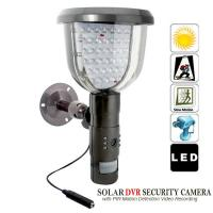 Quality Solar PIR DVR CCTV Security Video Camera Recorder Motion Detection W/ 39pcs IR LED Lights wholesale