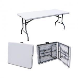 Quality Plastic Rectangle Length 242cm Foldable Outdoor Table SNUGLANE wholesale
