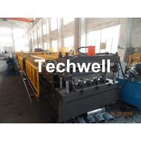 Quality Welding Wall Plate Machine Frame Structural Metal Deck Forming Machine With Chain Transmission wholesale