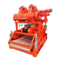 China Hydrocyclone Mud Cleaning Equipment 0.25 - 0.4mpa With Bottom Shale Shaker on sale